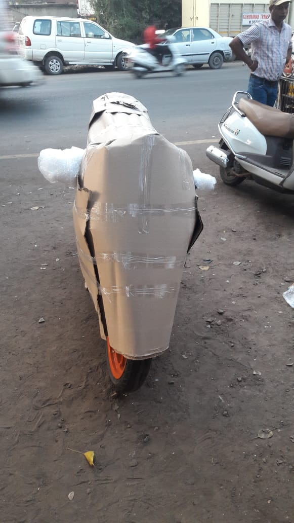KTM Rc Bike Packing And Moving From Pune To Bagaluru